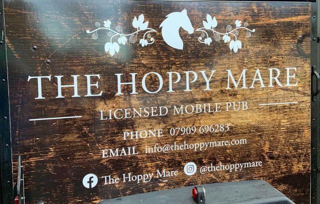 Hoppy Mare Van Side