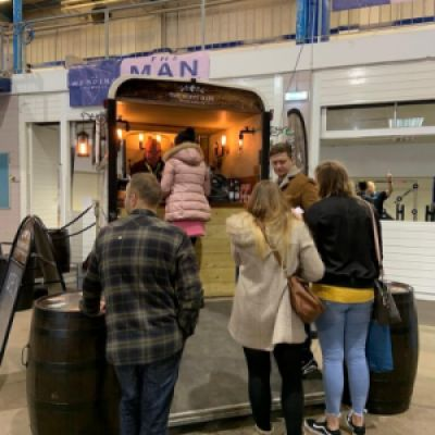 The Hoppy Mare mobile bar from Taunton Somerset at Bath and West Showground wedding showcase